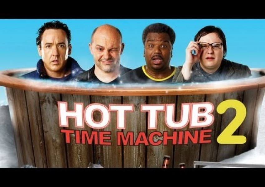 Машина на времето 2 | Hob tub time machine 2